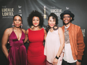 The Pipeline star Karen Pittman, director and Lortel winner Lileana Blain-Cruz, playwright Dominique Morriseau and star Namir Smallwood get together.