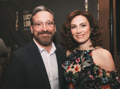 Meteor Shower co-stars Jeremy Shamos and Laura Benanti hosted the awards ceremony May 6.