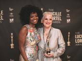 Summer star LaChanze presented the Lifetime Achievement Award to playwright Eve Ensler.