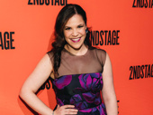Carousel Tony nominee Lindsay Mendez on the red carpet.