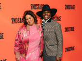 Anna Deavere Smith and Billy Porter work it on the red carpet.