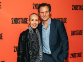 Broadway alum Carmen de Lavallade and Second Stage board member Tony Goldwyn get together.