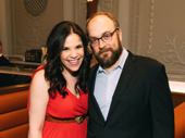 Nominees Lindsay Mendez and Alexander Gemignani star in Carousel.