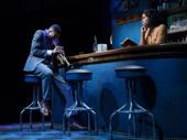 J. Alphonse Nicholson as Blue and Kristolyn Lloyd as Pumpkin in Paradise Blue.