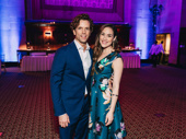 Escape to Margaritaville's Paul Alexander Nolan and Alison Luff enjoy the MTC gala.