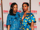 Once On This Island and Saint Joan Tony nominees Hailey Kilgore and Condola Rashad exude glamour and grace.