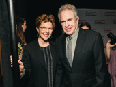 Warren Beatty, pictured here with wife Annette Benning, recieved the Actor's Fund Medal of Honor.