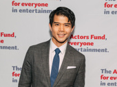 Telly Leung currently stars as Aladdin on Broadway.