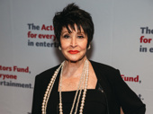 Chita Rivera also received the Actor's Fund Medal of Honor.