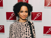 Children of a Lesser God Tony nominee Lauren Ridloff steps out.