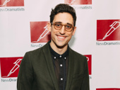 Carousel's Tony-nominated choreographer Justin Peck looks sharp.