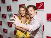 Mean Girls' Taylor Louderman and SpongeBob SquarePants star Ethan Slater snap a selfie.