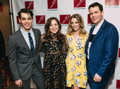 Mean Girls' Kyle Salig, Erika Henningsten, Taylor Louderman and Grey Henson squad up.