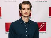 Angels in America Tony nominee Andrew Garfield looks sharp.