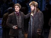 Zach Adkins as Dmitry and John Bolton as Vlad in Anastasia.