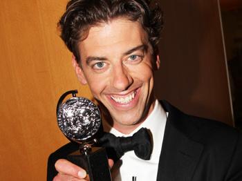 Tony Winner Christian Borle on Hugging 'Gentleman' Andrew Garfield and Smash's Potential New Musical
