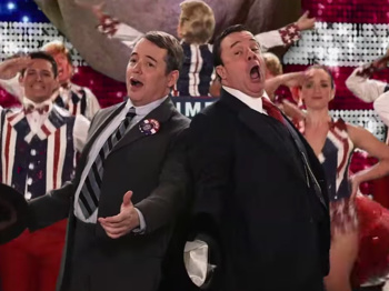 Make America Great & Keep It Gay?! Nathan Lane & Matthew Broderick Reprise Their Producers Roles to Send Up Donald Trump