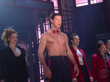 Watch Benjamin Walker & the Cast of American Psycho's Killer Late Show Performance!