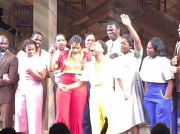 Jennifer Hudson & Cynthia Erivo Lead a 'Purple Rain' Tribute to Prince at The Color Purple