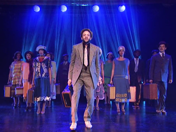Watch Tony-Nominated Choreographer Savion Glover & the Cast of Shuffle Along Tap It Out