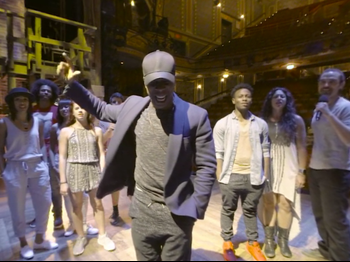 Look Around, Look Around! Leslie Odom Jr. & His Hamilton Castmates Sing Out in 360-Degree Video