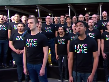 The New York City Gay Men's Chorus Paid Tribute to Orlando with a Number from Next to Normal