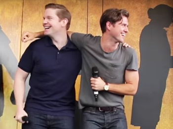 The Tveit Is Over! Broadway Faves Rory O'Malley & Aaron Tveit Are the Kings of #Ham4Ham