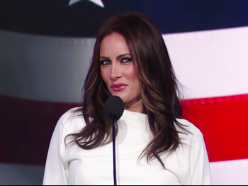Watch Tony Winner Laura Benanti Serve Up Glossy Pouts & Plagiarism Parody as Melania Trump