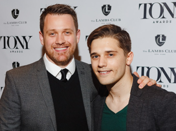 And Then They Were One Andy Mientus Amp Michael Arden Wed
