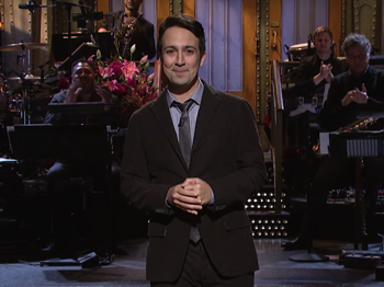 He Didn't Throw Away His Shot! Watch Lin-Manuel Miranda Spit Rhymes in SNL Hosting Stint