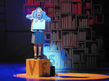 Lots of Books! Broadway in Cincinnati & the Public Library Issue Matilda Reading Challenge