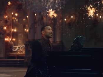 Watch John Legend, Ariana Grande & a Bunch of Dancing Rose Petals in the 'Beauty and the Beast' Music Video