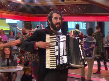 Josh Groban, Denée Benton & Stars of Broadway's Great Comet Sing Out on Good Morning America