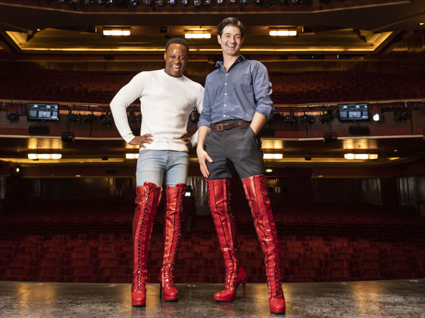 West End Star Oliver Tompsett on How Starring in Kinky Boots Affects His Footwear Choices, Meeting Cyndi Lauper and More