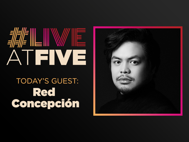 Broadway.com #LiveatFive with Red Concepcion of the Miss Saigon National Tour