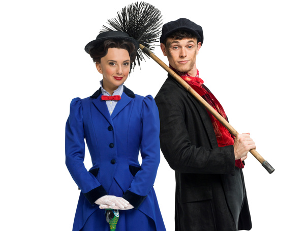 Hello, Dolly!'s Charlie Stemp to Star as Bert in London Return of Mary Poppins; Zizi Strallen to Play Title Role