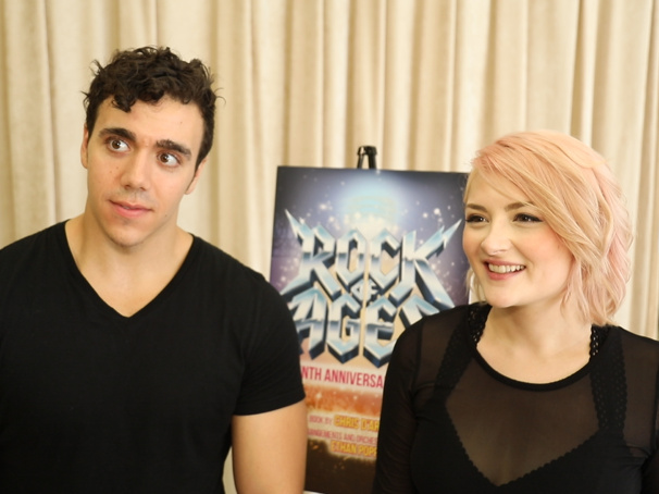The Broadway.com Show: Feel the Noize with the Head-Bangin' Stars of the Rock of Ages Tour