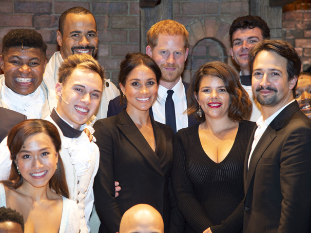 Lin-Manuel Miranda on Watching Hamilton's King George While Sitting Next to Prince Harry: 'That's His Sixth-Great-Grandpa'