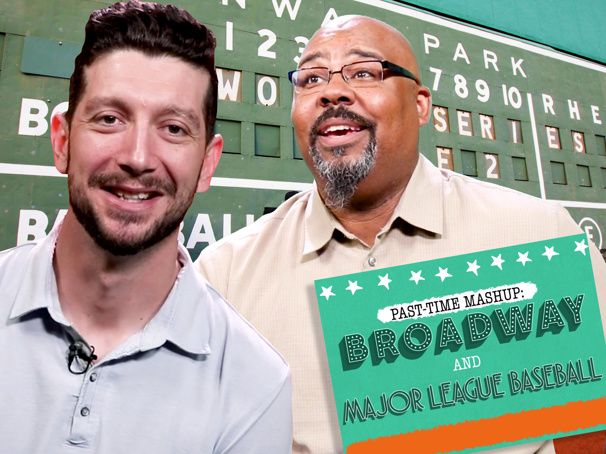 Baseball's Jerry Blevins & Broadway's James Monroe Iglehart on Show Tunes, Mascots, Etiquette & More!