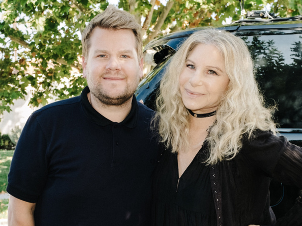 Watch James Corden & Barbra Streisand Sing Funny Girl's 'Don't Rain on My Parade' & More in Latest Carpool Karaoke