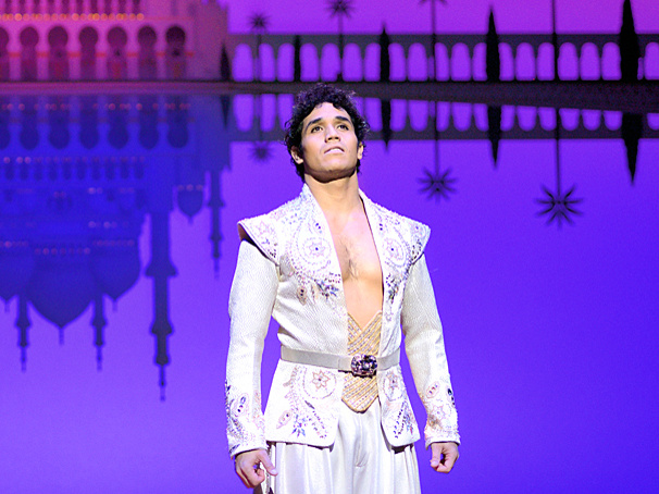 Adam Jacobs Will Reprise His Star Turn as Aladdin in the Disney Musical's National Tour