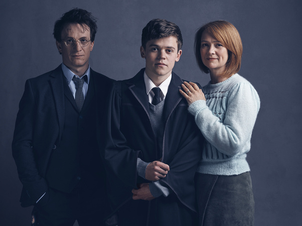 Lumos! Get a First Look at Harry, Ginny & Albus Potter in Harry Potter & The Cursed Child