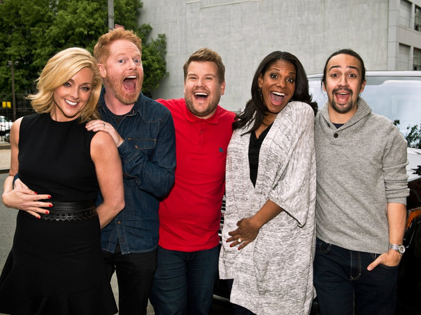 Lin-Manuel Miranda, Audra McDonald & More Broadway Faves Tapped for James Corden's Next Carpool Karaoke