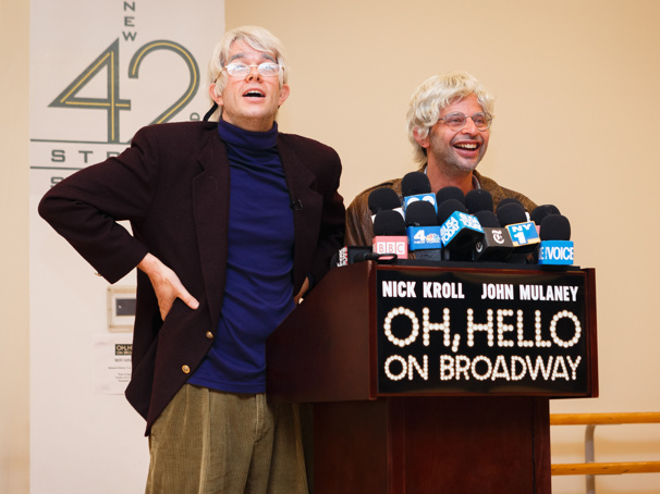 Greetings! Oh, Hello's John Mulaney & Nick Kroll Meet the Press