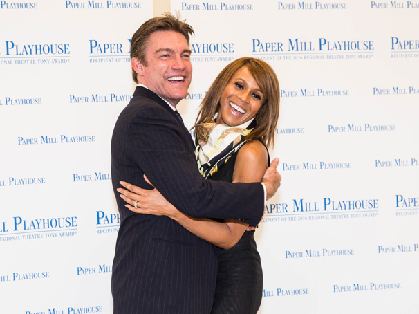 Poised for Paper Mill & Beyond! The Bodyguard's Queen of the Night Deborah Cox & Judson Mills Meet the Press