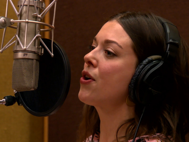 Exclusive! Celebrate the In Transit Cast Album Release with Margo Seibert Rocking Out at the Mic