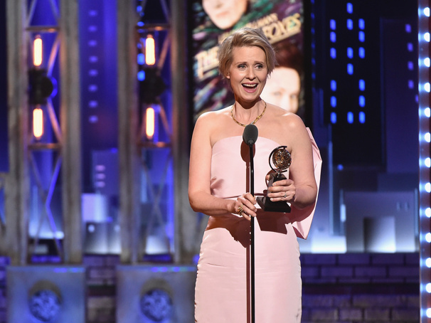Cynthia Nixon Takes Home Her Second Tony Award for The Little Foxes