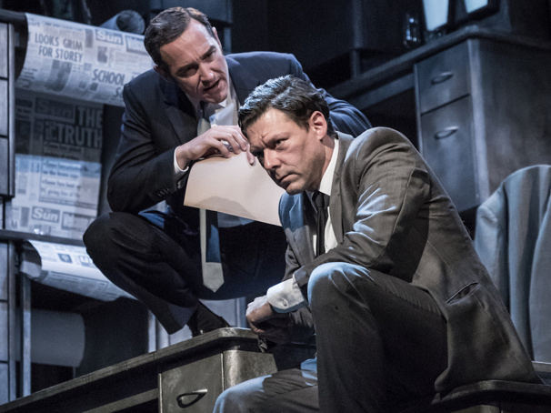 James Graham's Ink, Starring Tony Nominee Bertie Carvel as Rupert Murdoch, Will Transfer to London's West End