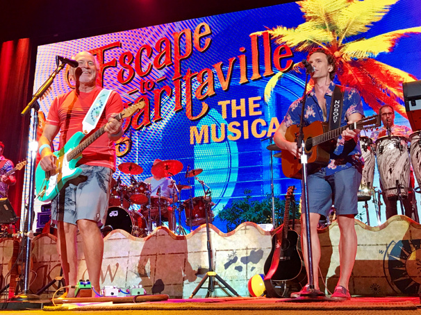 Jimmy Buffett & Escape to Margaritaville's Paul Alexander Nolan Jam Onstage in Toronto