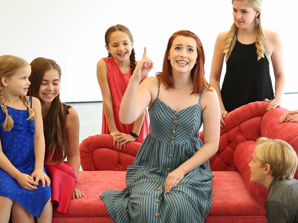 Watch Jill-Christine Wiley & the Cast of The Sound of Music Tour Do-Re-Mi in Rehearsal